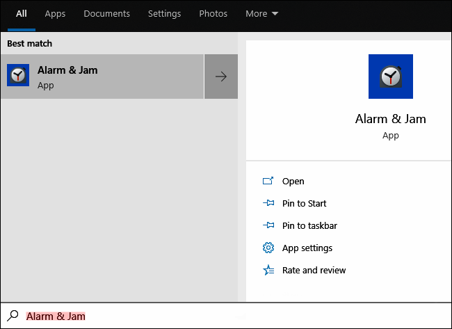 Cara Setting Alarm di Windows 10