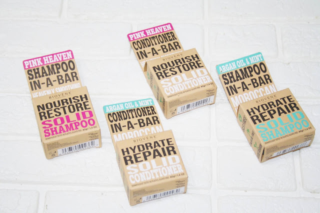 Biovène solid Shampoo and Conditioner Bars