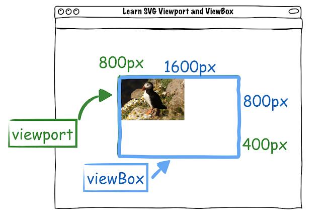SVG viewport and viewBox