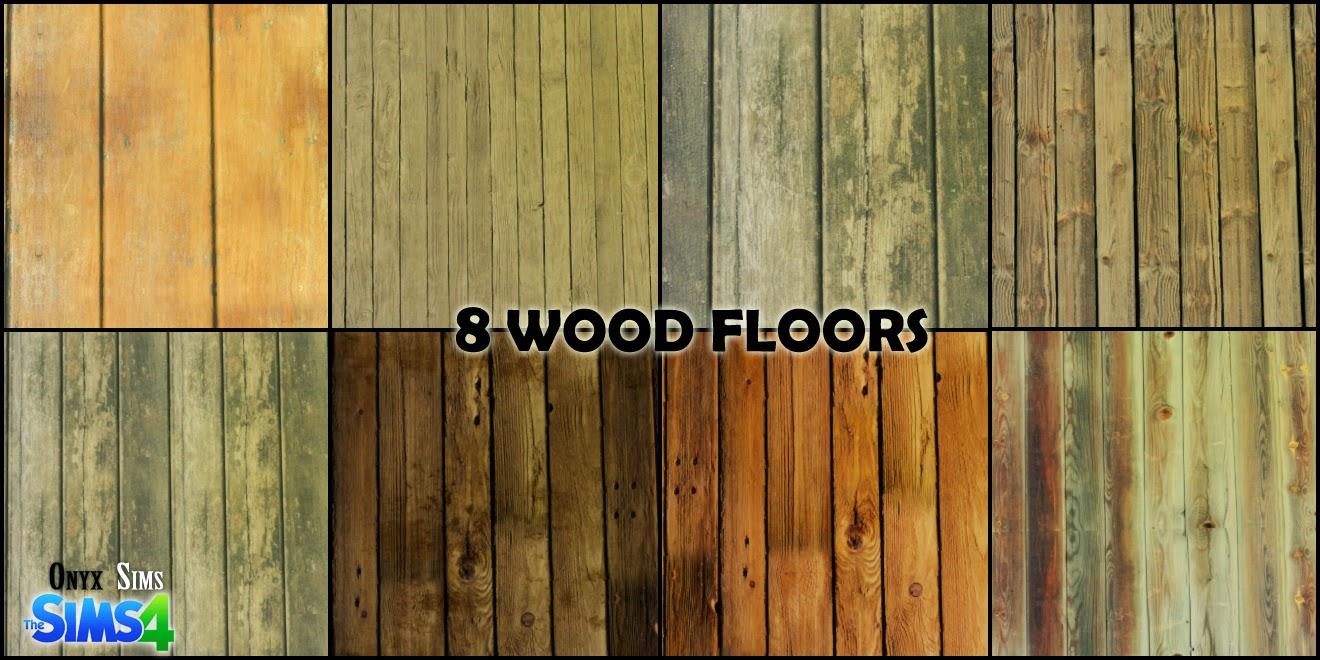 TS4  Old Wood Floors  Onyx Sims