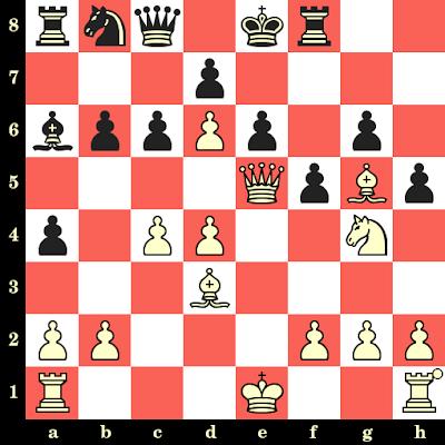 Les Blancs jouent et matent en 4 coups - Filipina Aguilar vs Temahlubi Dlamini, Tromsoe, 2014
