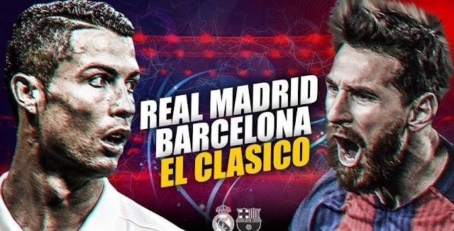 جميع تردد القنوات المفتوحة الناقلة للسوبر الأسباني ريال مدريد وبرشلونة اياب كلاسيكو الأرض 2017 بث مباشر