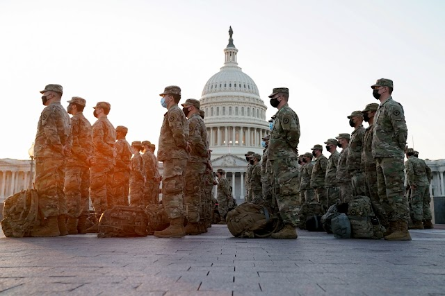 Capitol Police request extension of National Guard to protect Congress