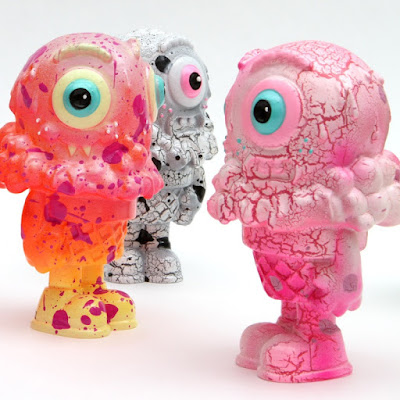 2-Face Mister Melty Resin Figures by Buff Monster