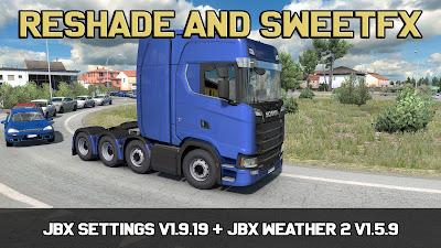 JBX Settings v1.9.19 Reshade dan SweetFX