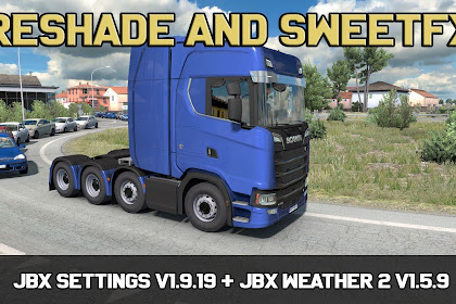JBX Settings v1.9.19 Reshade dan SweetFX