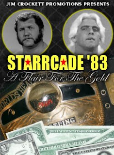 NWA Starrcade 83: A Flare for the Gold Review - Event poster