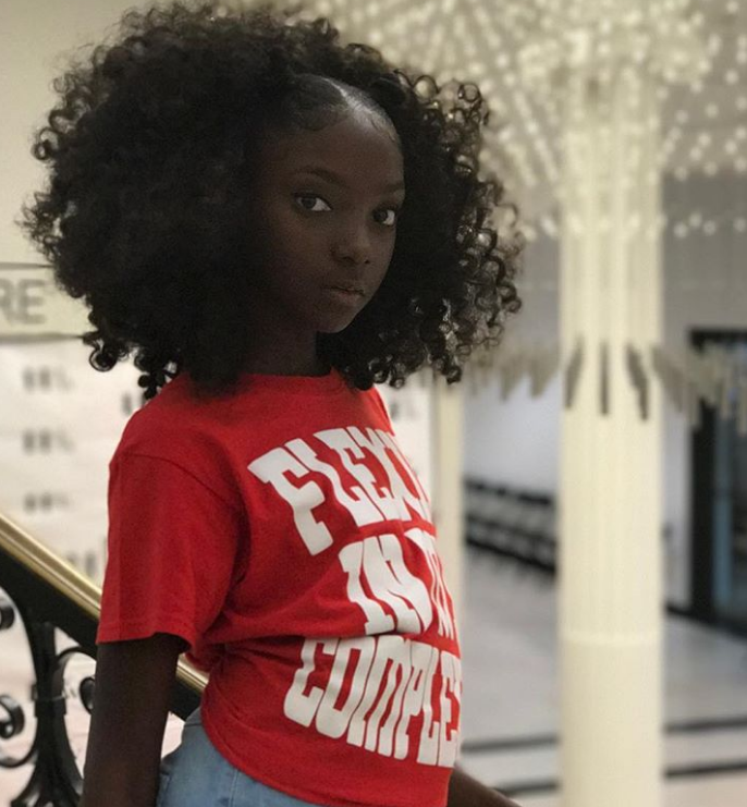 From Bullied To Youngest Fashion Week Designer 11 Year Old Kheris Rogers Is Flexin In Her Complexion Curlynikki Natural Hair Care