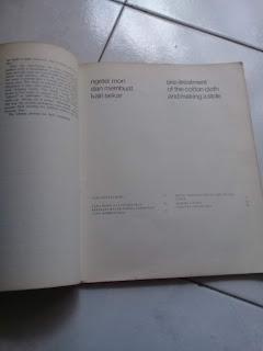 halaman di buku batik klasik