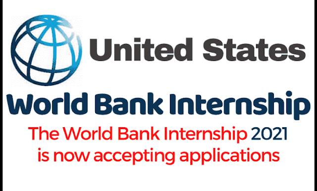 تقدم الآن لبرنامج التدريب الصيفي للبنك الدولي 2021 (ممول بالكامل)