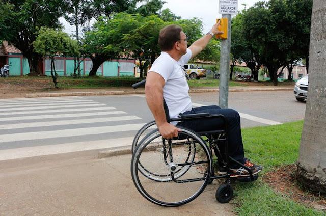 Projeto destina recursos de multas de trânsito para obras de acessibilidade em via públicas