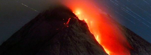 Gunung Merapi termasuk gunung teraktif di dunia