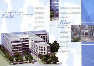 Immobilienwerbung, Bauprojekt, Gebäude, Düsseldorf, Broschüre, Werbetexter, Köln, business-to business, b2b, Ansprache von Entscheidern, gewerblich, Mieter