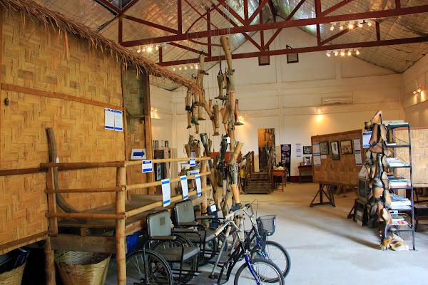 COPE centro de visitantes - Vientian - Laos