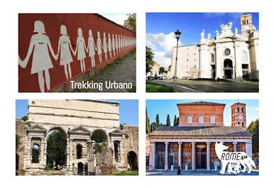 Trekking urbano alla scoperta dei segreti di Roma da Santa Croce in Gerusalemme a San Lorenzo fuori le Mura