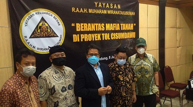 "Yayasan R.A.A.H Muharam Wiranatakusumah: ""Berantas Mafia Tanah di Proyek Tol Cisumdawu"""