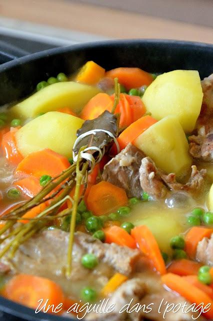 Rata piz bihan (ragoût de petits pois) cuisine bretonne