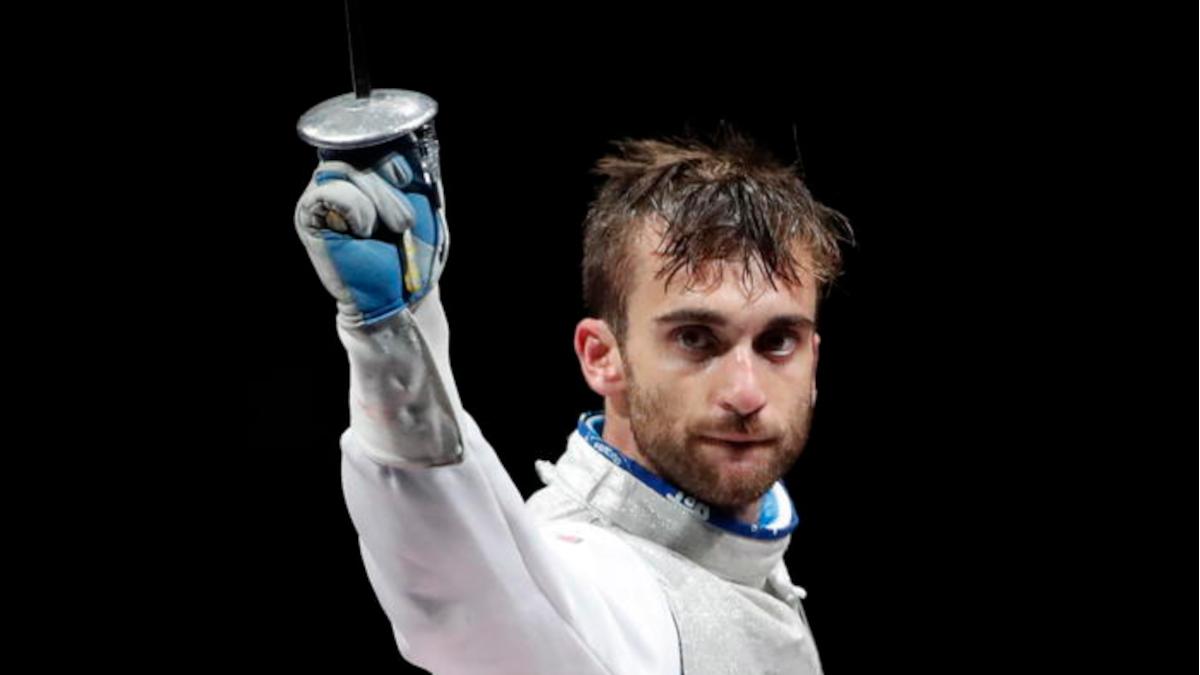 Medaglia argento Daniele Garozzo schermidore catanese fioretto individuale Tokyo 2020