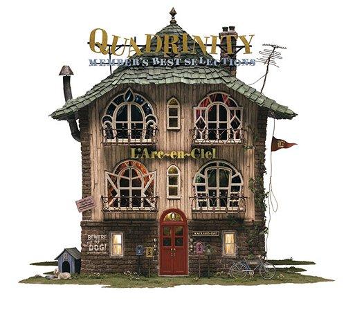 L'Arc~en~Ciel - QUADRINITY ~MEMBER'S BEST SELECTIONS~ (通常盤)