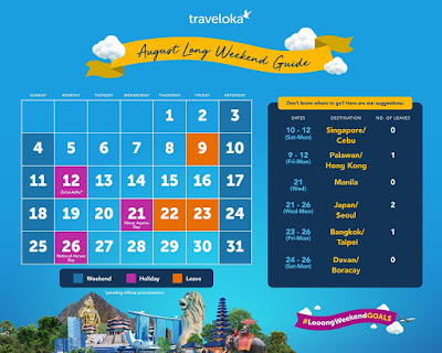 Plan the Perfect Long Weekend Getaway with Traveloka