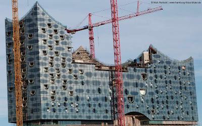 Elbphilharmonie Hamburg 2012, Südansicht
