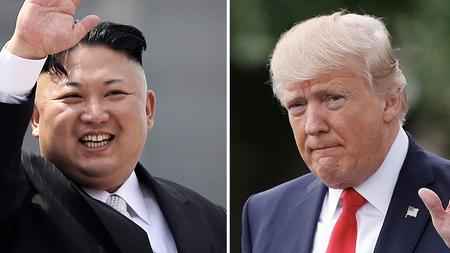 حرب البيانات بين الرئيس ترامب والرئيس الكوري الشمالي كيم جونغ اون
