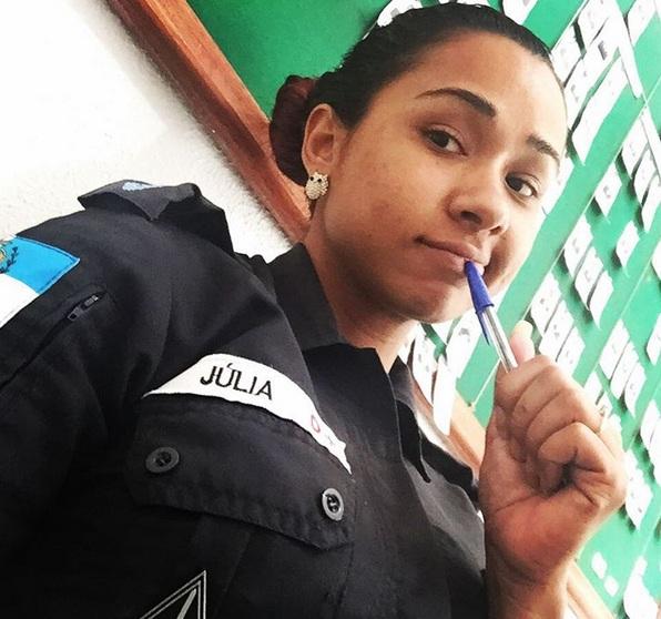 Brazilian cop julia nude