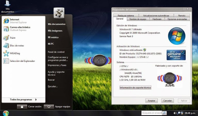 ✅ Windows Xp RD v3 (Activado) Español  [ UL - FF ] Windows-xp