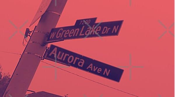Green Lake Drive & Aurora Avenue, Seattle, Washington by Mistah Wilson