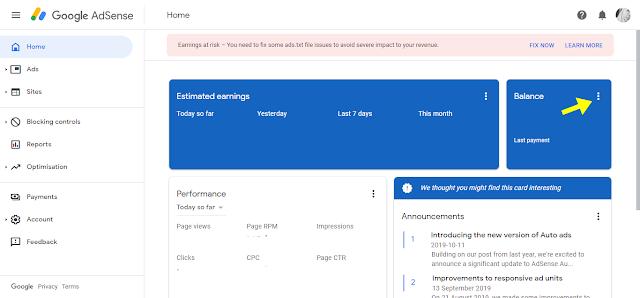 Cara keluarkan duit Google Adsense guna Western Union
