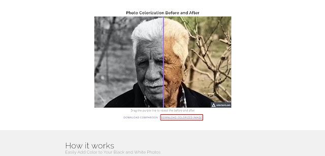 cara ubah foto hitam putih jadi berwarna online