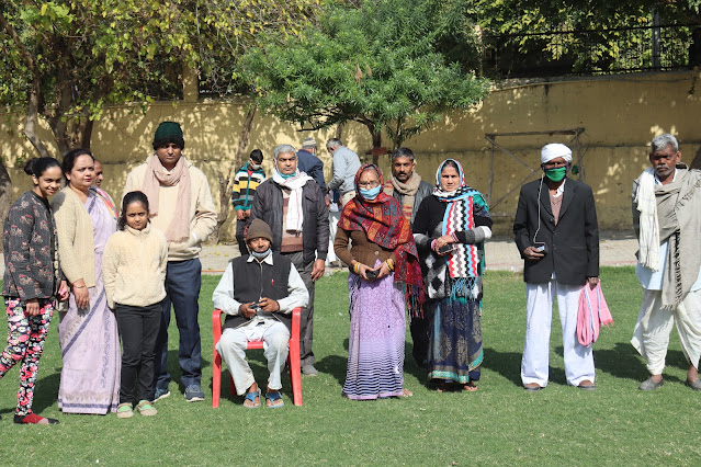 463 Divyang benefited in Ashoka Foundation's Divyang Artificial Organ Transplant Camp अशोका फाउंडेशन के दिव्यांग कृत्रिम अंग प्रत्यारोपण शिविर में मिला 463 दिव्यांगों को लाभ