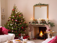 Living Room Christmas Decorations Images