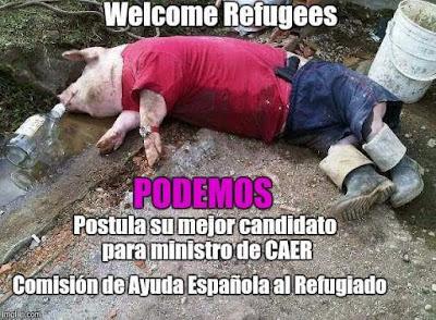 Podemos postula su mejor candidato para ministro de CAER, comisión de ayuda española al refugiado