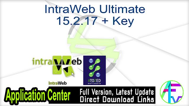 IntraWeb Ultimate 15.2.17 + Key