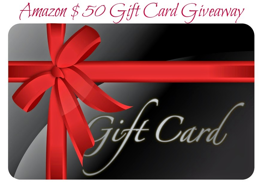 Amazon $50 Gift Card Giveaway - Seriously Natural  $50
