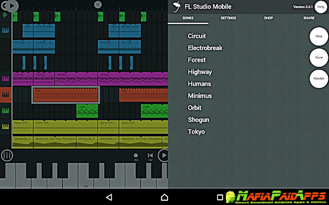 FL Studio Mobile Apk MafiaPaidApps