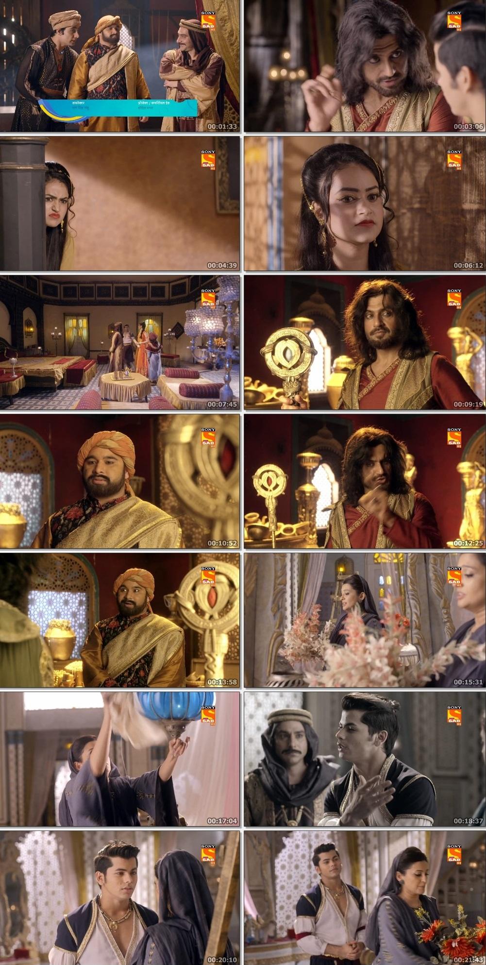 Screenshots Of Hindi Show Aladdin – Naam Toh Suna Hoga 2019 Episode 239 300MB 720P HD