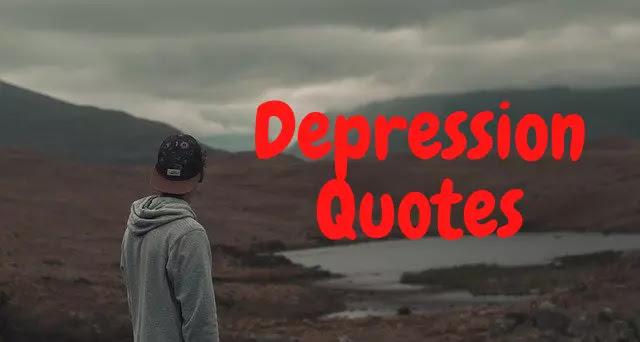 150+ डिप्रेशन (तनाव) कोट्स - Depression Quotes in Hindi