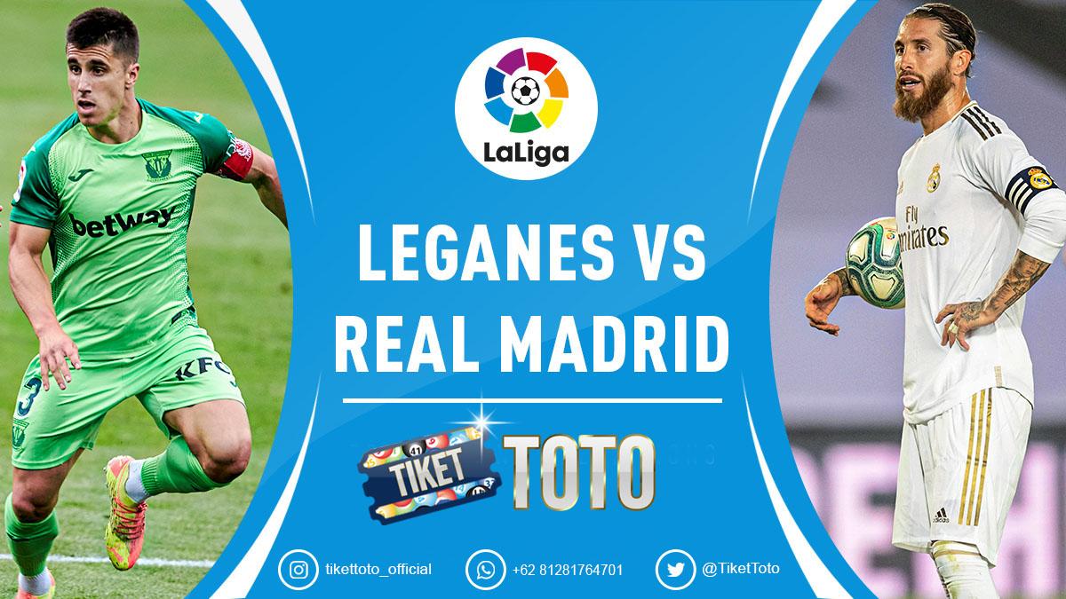 Sengit! Leganes Vs Real Madrid Berakhir Imbang