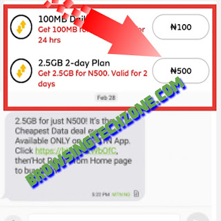 How to activate 2.5GB For N500
