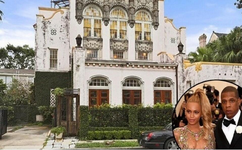 Un incendio consume una casa de Beyoncé y Jay-Z en Nueva Orleans