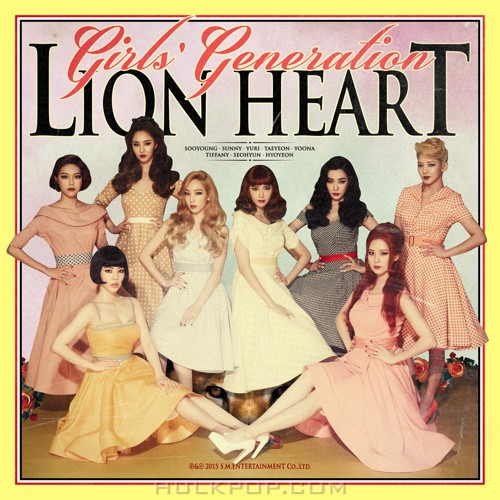 Girls' Generation – Lion Heart – The 5th Album (FLAC + ITUNES PLUS AAC M4A)