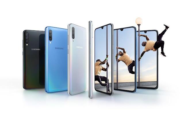 Spesifikasi Lengkap dan Harga Samsung Galaxy A70 - Smartphone Samsung Dengan Prosessor Snapdragon 675