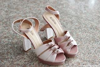 Fashion Review: Justfab - mein Sommerschuh und Taschen Haul - Khloe Heeled Sandal
