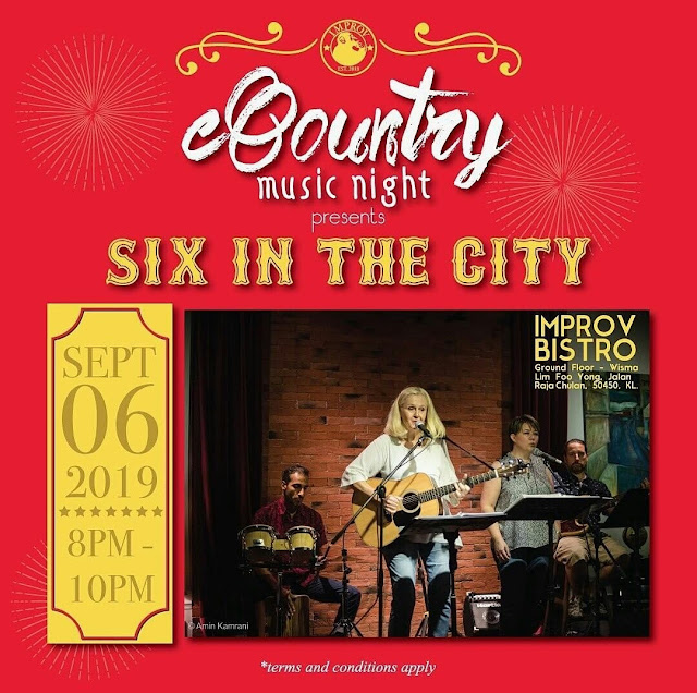 COUNTRY MUSIC NIGHT PRESENT SIX IN THE CITY