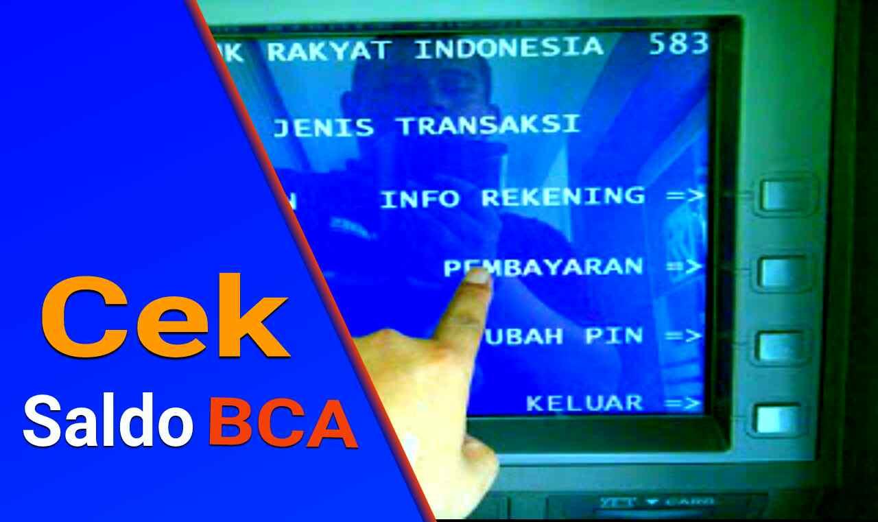 Cek Saldo Bca Di Atm Sms Banking Internet Banking Online Via Android Kantor Bca