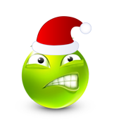 Christmas Smiley Icon 19