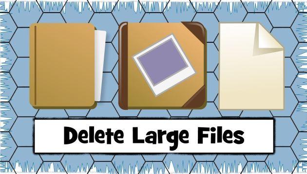 كيفية, التخلص, من, الملفات, كبيرة, الحجم, على, الكمبيوتر
