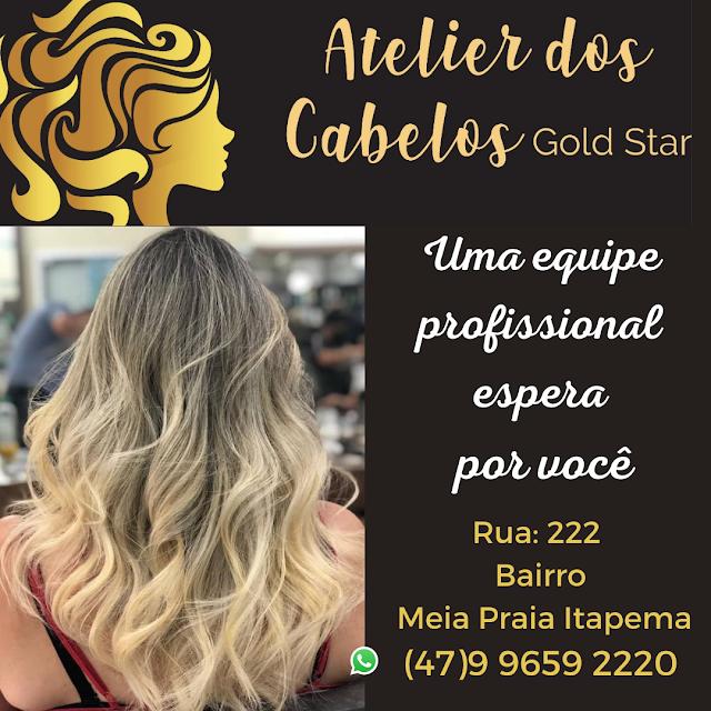 Ateliê dos Cabelos Gold Star